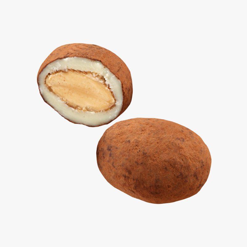 Hexagonales Almendras al Cacao