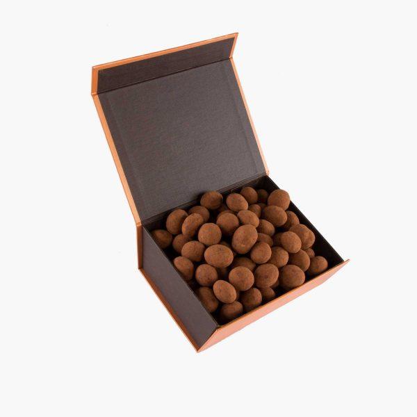 perlas 500 gramos Almendras al Cacao Sin Azúcares Añadidos