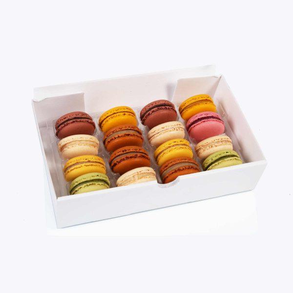 Macarons Caja Regalo Macarons 16 piezas