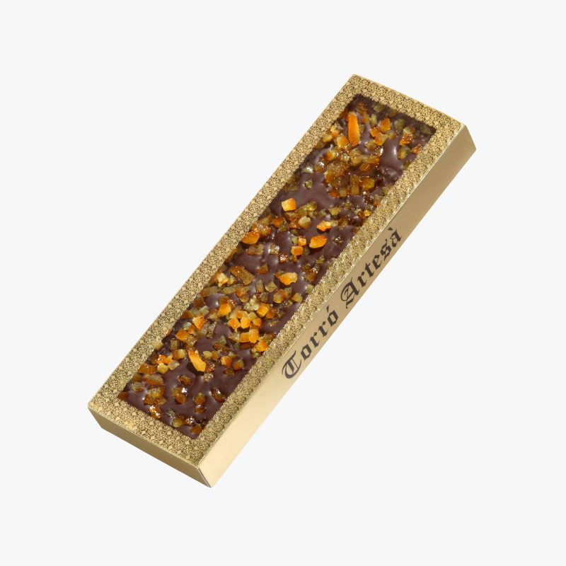 Turrones de Chocolate Choco Naranja