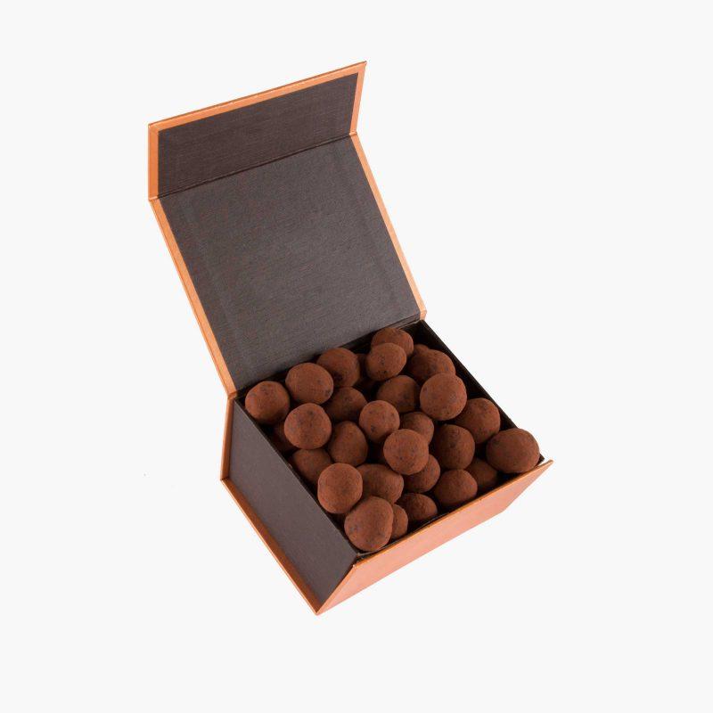 perlas 250 gramos Macadamias al Cacao