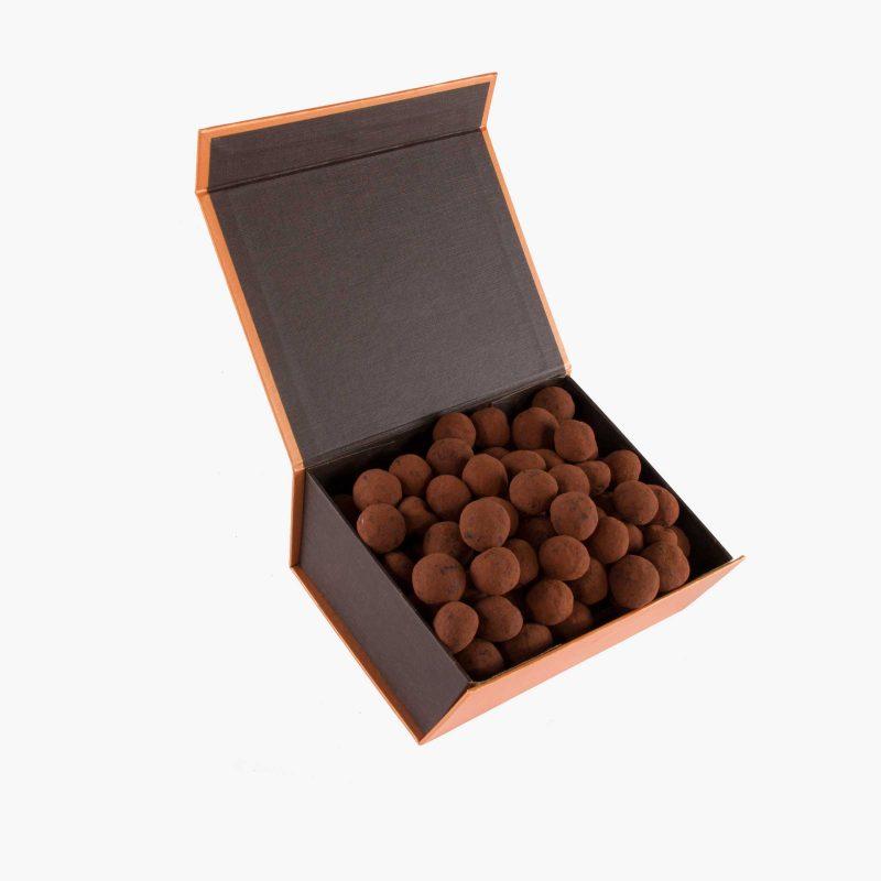 Bombones Macadamias al Cacao