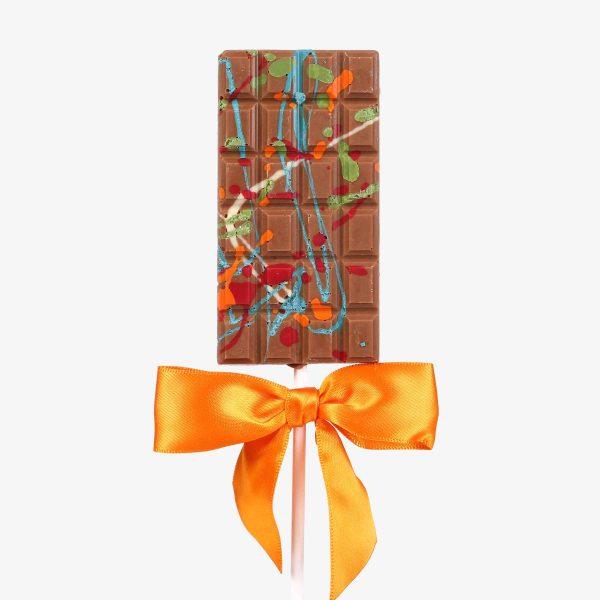 Piruletas Piruleta  con chocolate Leche