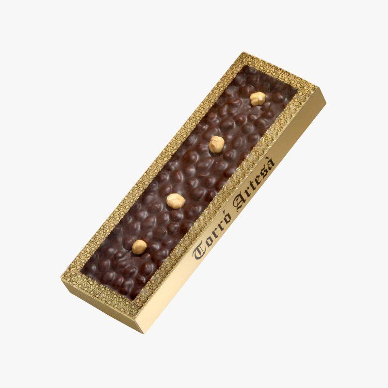 Turrones de Chocolate Choco Avellanas Negro
