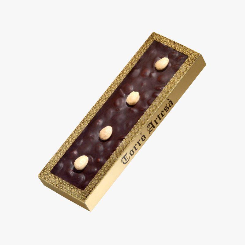 Turrones de Chocolate Choco Almendra Negro