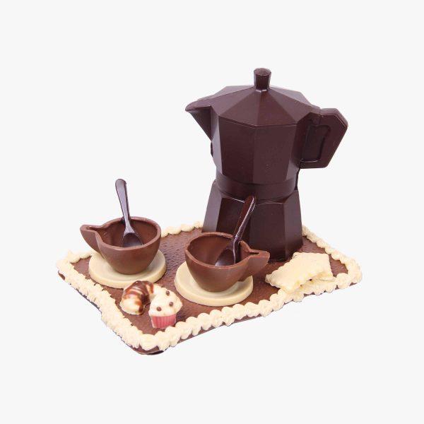 40 - 60€ Cafetera con cupcake