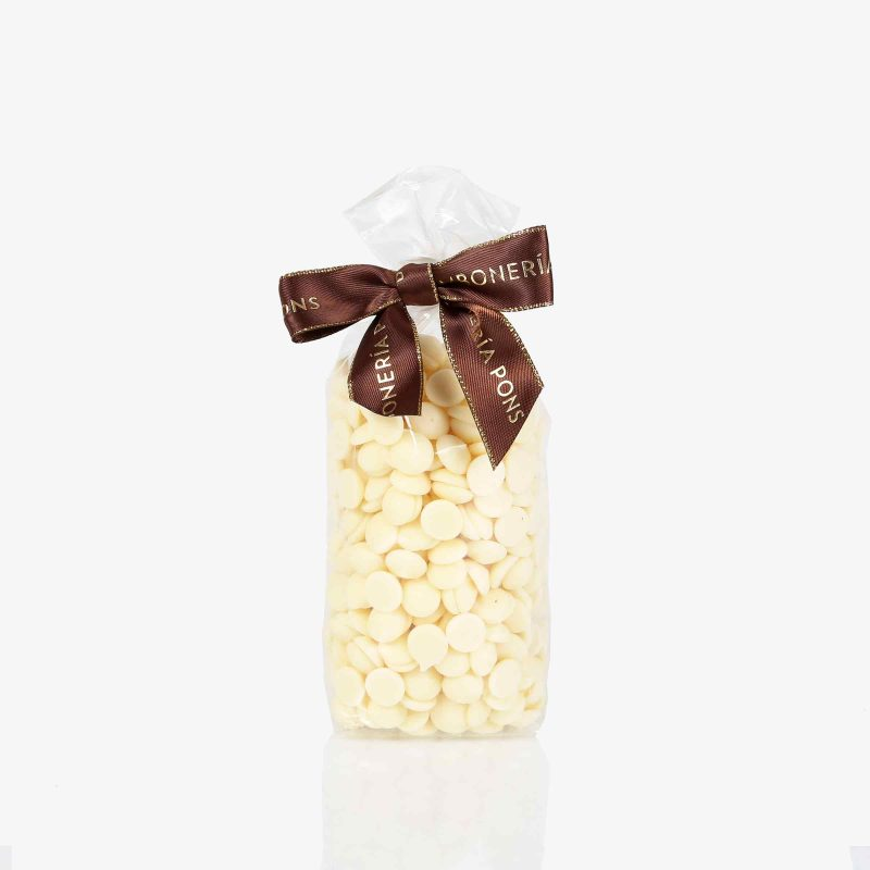 Bolsas 100 gramos Gotas Chocolate Blanco