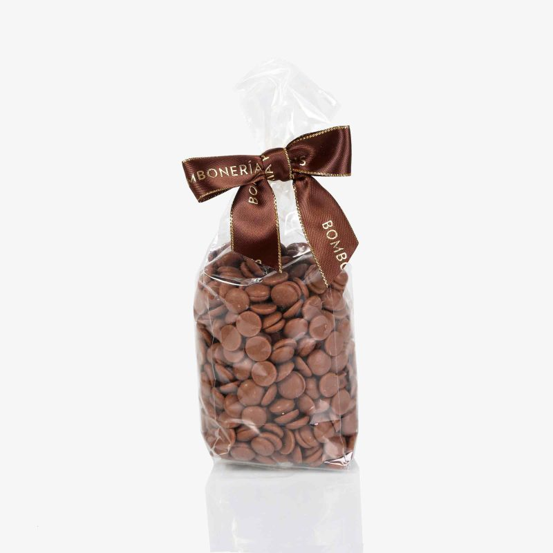 Bolsas 100 gramos Gotas Chocolate Leche