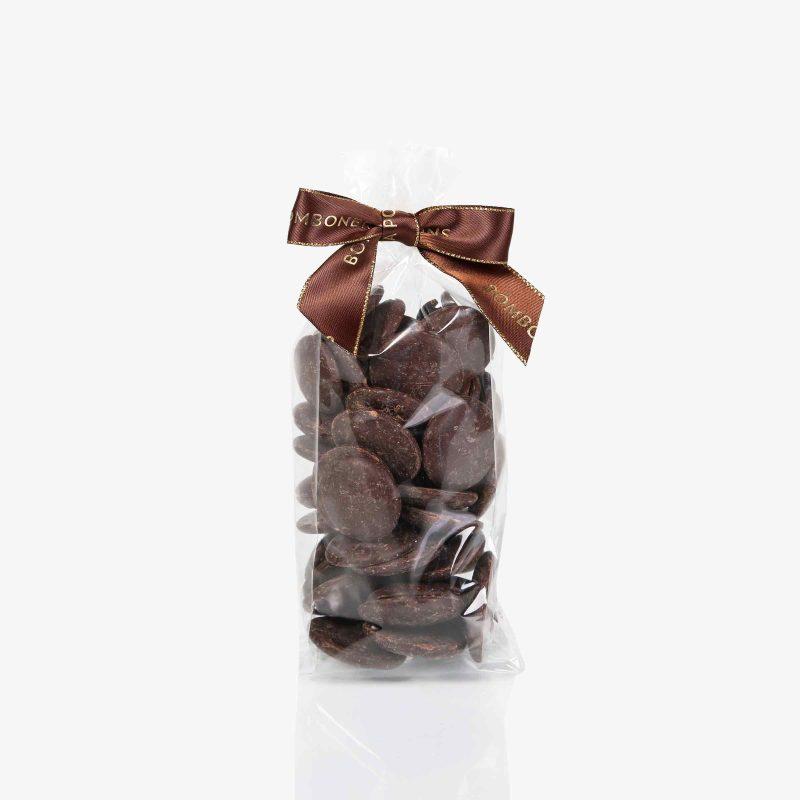 Bolsas 100 gramos Gotas chocolate Negro 70%