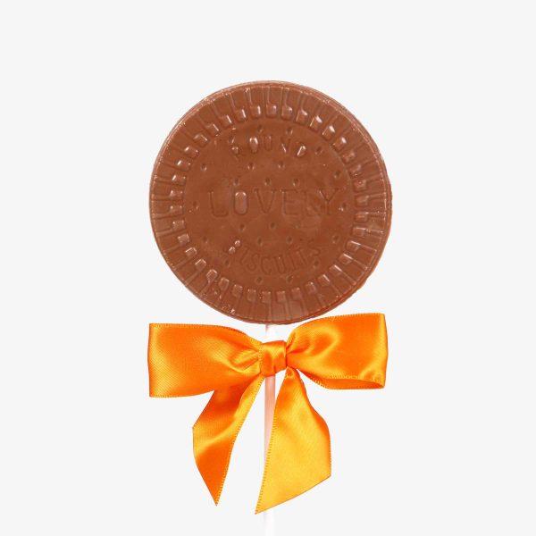 Piruletas Piruleta chocolate de avellana