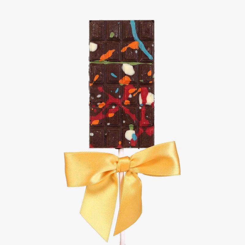 Piruletas Piruleta de chocolate negro