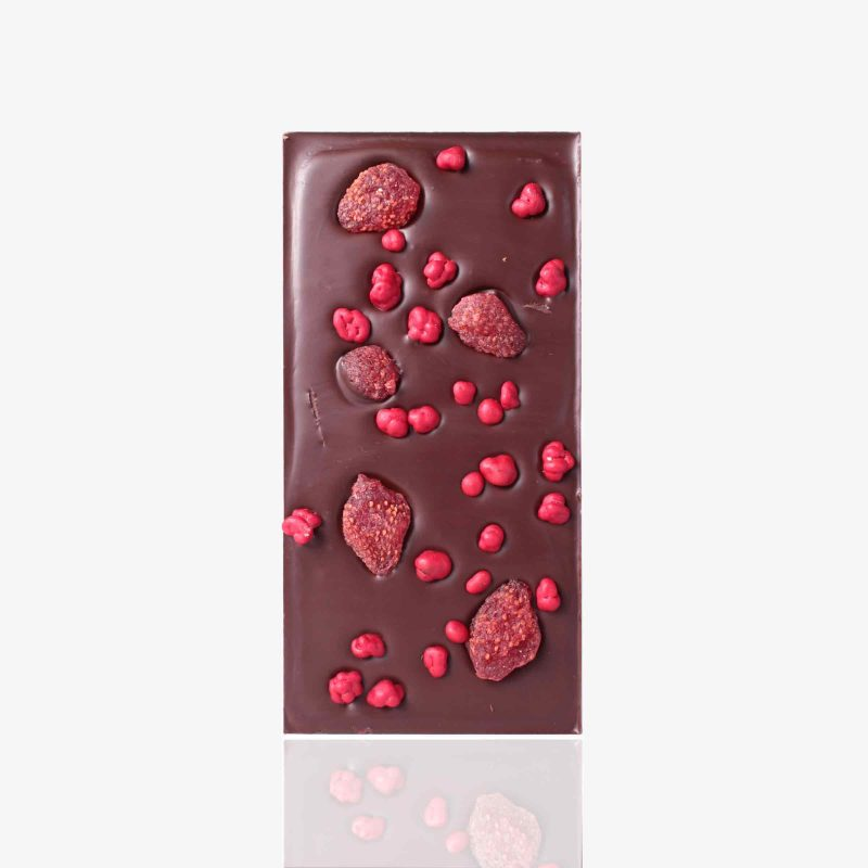 Tabletas Chocolate negro y Frambuesa