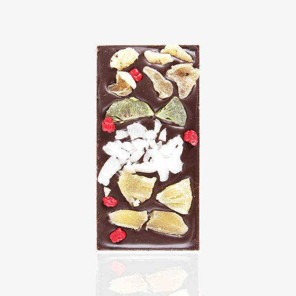 Tabletas Chocolate con fruta Tropical