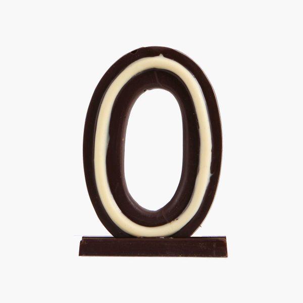 Velas de cumpleaños Vela cumpleaños de chocolate  Nº0