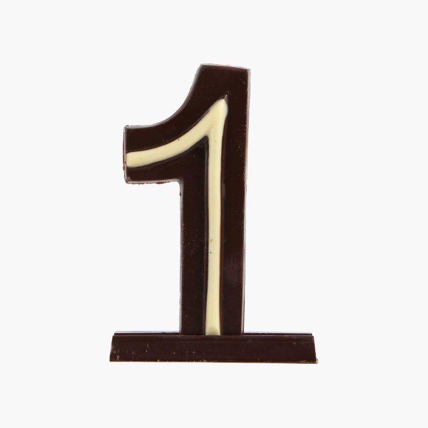 Velas de cumpleaños Vela cumpleaños de chocolate  Nº1