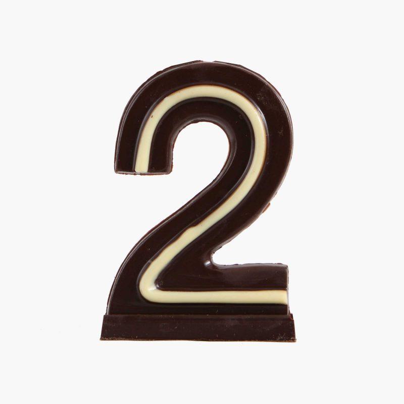 Velas de cumpleaños Vela cumpleaños de chocolate  Nº2