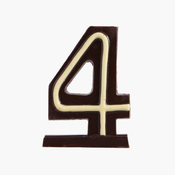 Velas de cumpleaños Vela cumpleaños de chocolate  Nº4