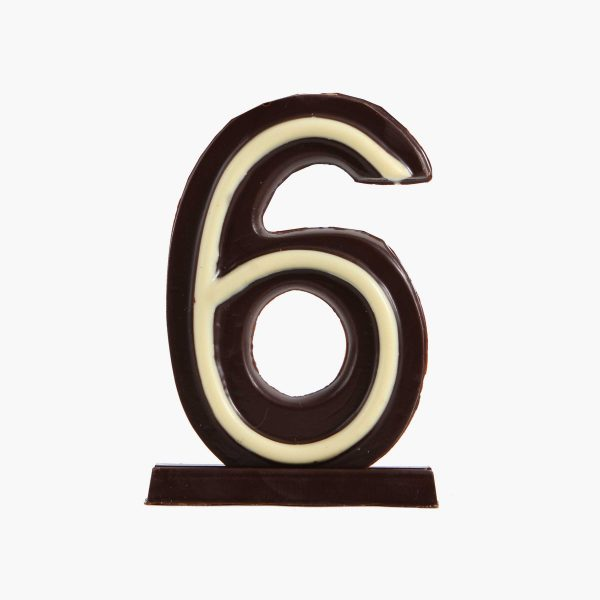 Velas de cumpleaños Vela cumpleaños de chocolate  Nº6