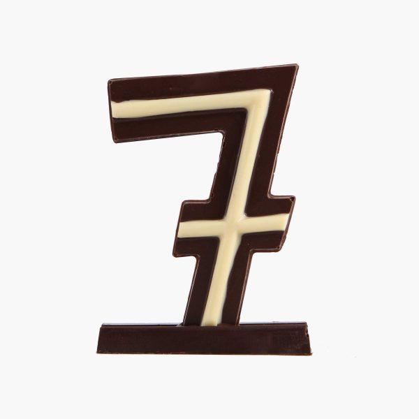 Velas de cumpleaños Vela cumpleaños de chocolate  Nº7