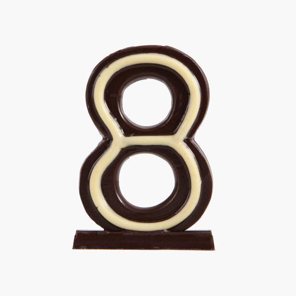 Velas de cumpleaños Vela cumpleaños de chocolate  Nº8
