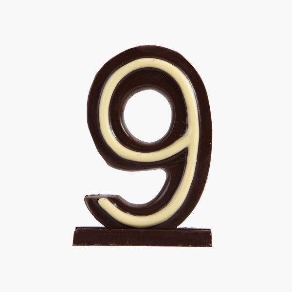 Velas de cumpleaños Vela cumpleaños de chocolate  Nº9