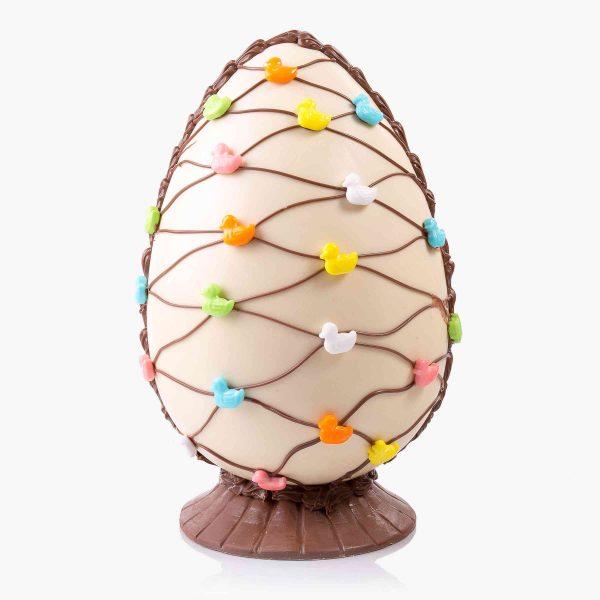 Decorados Huevo decorado nº2 Blanco