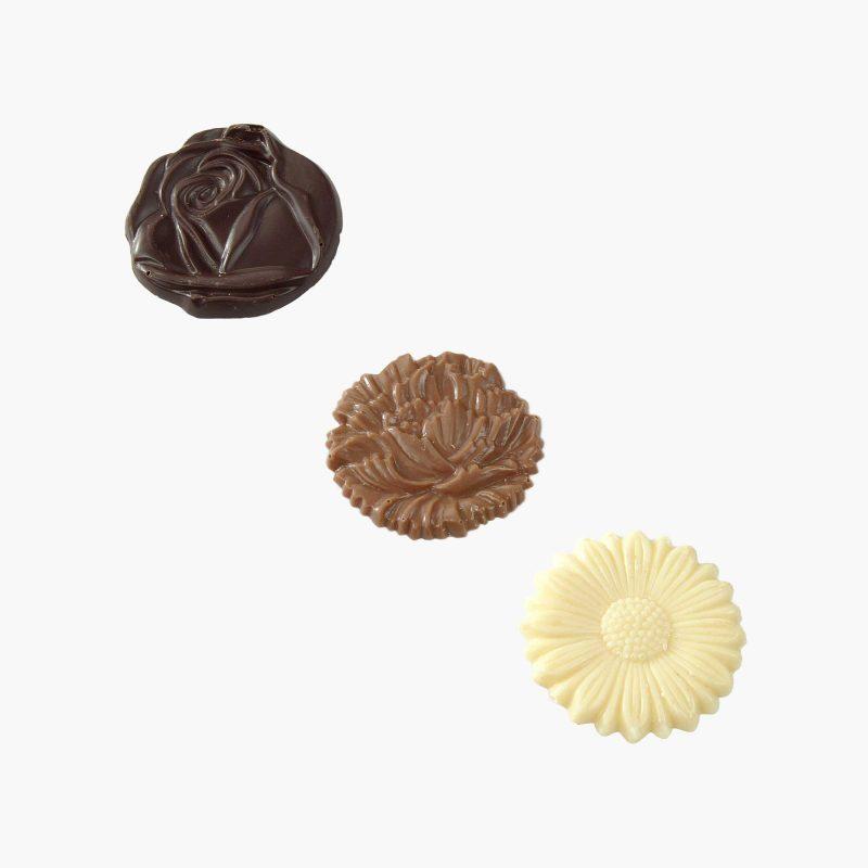 Bocados Flores chocolate variado