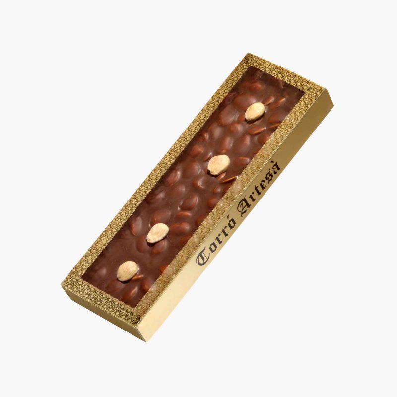 Turrones de Chocolate Choco Almendra Leche