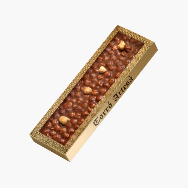 Turrones de Chocolate Choco Avellanas Leche