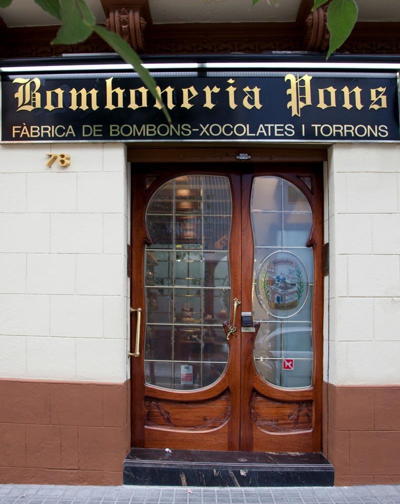 Bomboneria Pons - Botiga Bomboneria Pons - Nosotros -