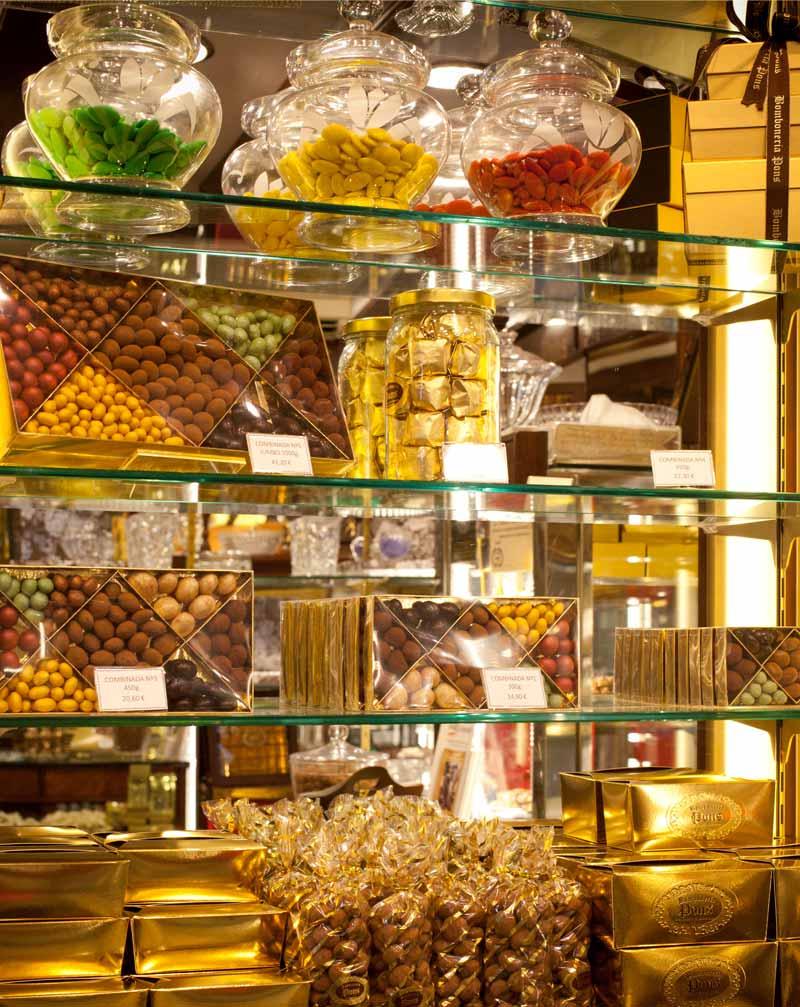 Bomboneria Pons - Vitrina Bombones y chocolates Pons - Nosotros -