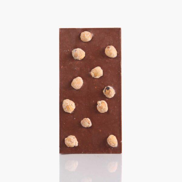 Tabletas Chocolate con avellana y caramelo