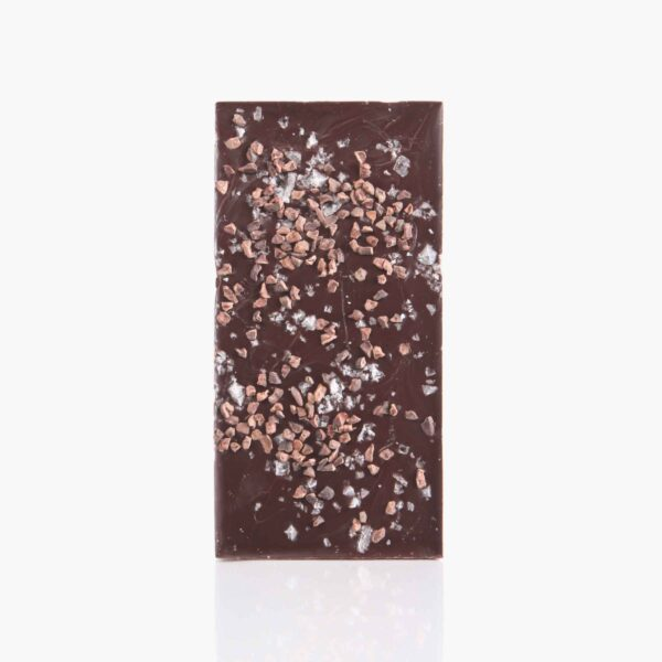 Tabletas Chocolate negro 70% con Nibs y sal