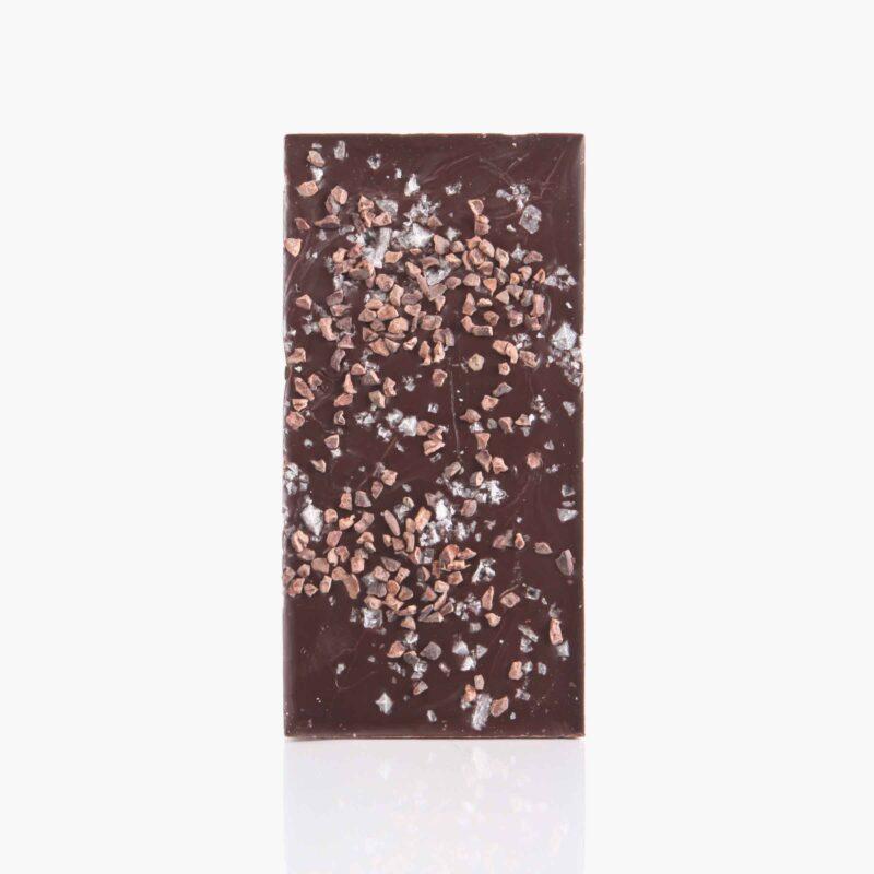 Tabletas Chocolate negro con Nibs y sal